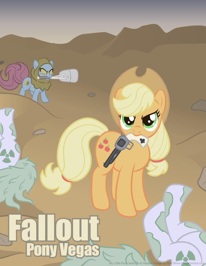 Fallout: Pony Vegas By Dan Shive