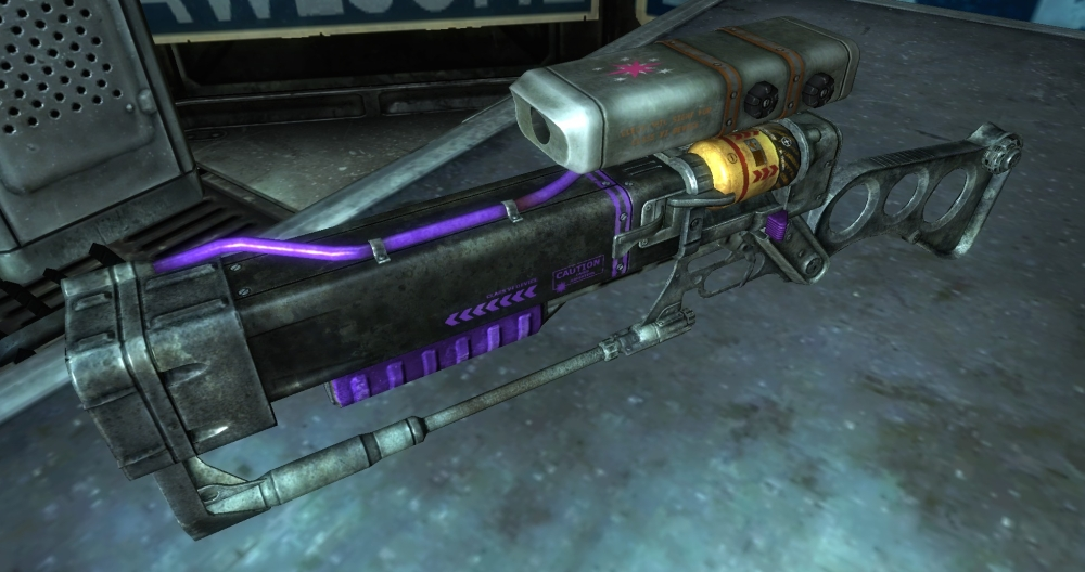 Twilight Laser Rifle - Angle View 2